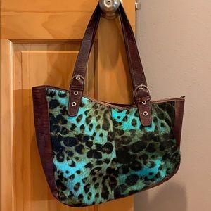 Roberta Gandoln leather handbag.  Made in Italy.